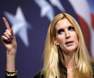 Conservative author Ann Coulter addresses the Conservative Political Action Conference (CPAC) in Washington on Saturday Feb. 20,2010.