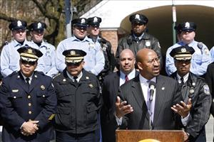 Philadelphia mayor Michael Nutter reassure residents of their safety and outlines the city's response to the recent unrest caused by roving mobs of unruly youths.
