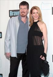 Simon Van Kempen and Alex McCord attend Bravo's 2010 Upfront Party at Skylight Studio on March 10, 2010 in New York City.