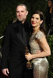 Sandra Bullock and Jesse James arrive at the Vanity Fair Oscar party on in this March 7, 2010 file photo taken in West Hollywood, Calif.