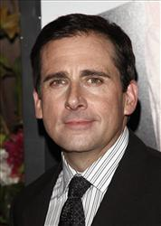 Actor Steve Carell arrives to the premiere of Date Night at The Ziegfeld Theatre in New York, on Tuesday, April 6, 2010.