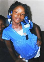 Aiyana Jones, 7, was shot and killed yesterday when a police officer's guyn accidentally discharged.