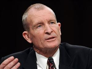 A 2009 file photo of National Intelligence Director Dennis Blair.