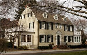 This house located at 112 Ocean Avenue in the town of Amityville, Long Island, is one of America's most famous 'haunted' houses.