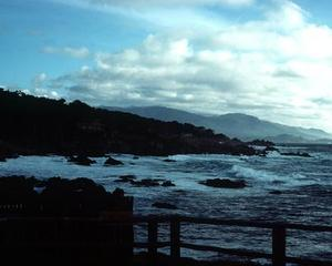 Great views of the Pacific can be had from 17 Mile Drive along the coast of the Monterey Peninsula in California.
