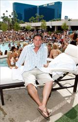 Television personality Jon Gosselin appears at the Wet Republic pool at the MGM Grand Hotel/Casino August 29, 2009 in Las Vegas, Nevada.