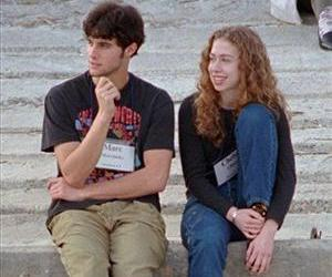 Marc Mezvinsky and future wife Chelsea Clinton in Hilton Head Island, SC, in December 1996, about 13 years before they announced their engagement.