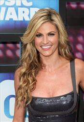 Sportcaster Erin Andrews attends the 2010 CMT Music Awards, in Nashville, Tenn. on Wednesday, June 9, 2010.