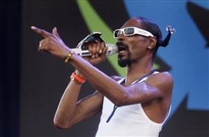 Snoop Dogg performs at Glastonbury Festival, in Glastonbury, Friday, June 25, 2010. The Festival celebrates its 40th anniversary this year.