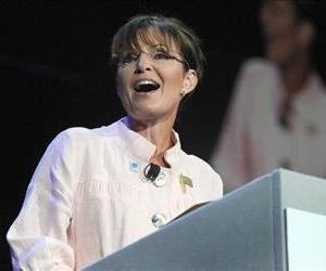 In this June 29, 2010 file photo, former Alaska Gov. Sarah Palin speaks in Duluth, Ga.