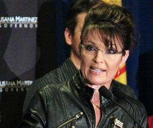 Sarah Palin, former Alaska governor and former vice presidential candidate, attends a rally in Albuquerque, N.M., on Sunday, May 16, 2010.