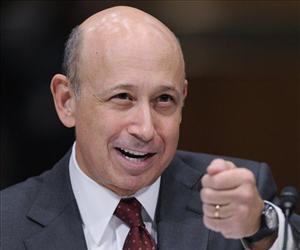 Goldman Sachs CEO Lloyd Blankfein testifies before the Senate Subcommittee on Investigations hearing on Wall Street investment banks and the financial crisis on Capitol Hill, April 27, 2010.