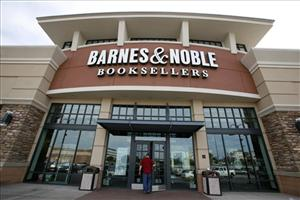A file photo of a Barnes & Noble in Bethel Park, Pa.