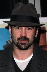Actor Colin Farrell arrives for a screening of 'In Bruges' at the IFC Center Monday, Feb. 4, 2008 in New York. (AP Photo/Gary He)