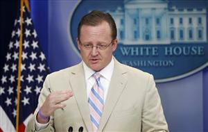 White House Press Secretary Robert Gibbs briefs reporters at the White House Wednesday.