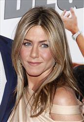 In this March 16, 2010 file photo, Jennifer Aniston arrives to the premiere of The Bounty Hunter at The Ziegfeld Theater in New York.