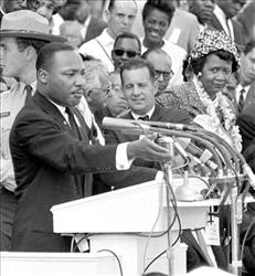 A 1963 file photo of Martin Luther King Jr.