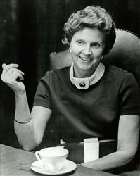 Elizabeth Post is seen in a 1972 handout photo provided by The Emily Post Institute.