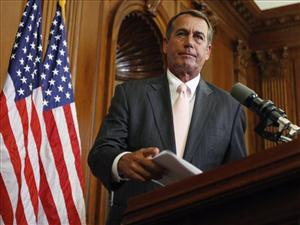 Boehner is in bed with big business - and proud of it.