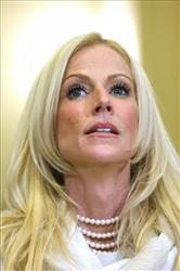 Michaele Salahi has said she had to duck out of her White House dinner quickly because she suffers from multiple sclerosis.