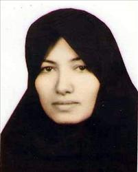 Sakineh Mohammadi Ashtiani, a mother of two who was sentenced to death by stoning in Iran on charges of adultery.
