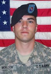 Corporal Cpl. Jeremy Morlock.