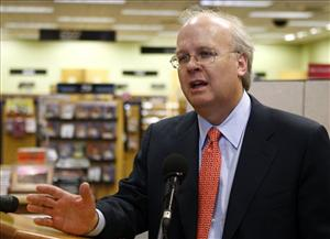 In this May 17, 2010, file photo, former White House adviser Karl Rove speaks in Oklahoma City.