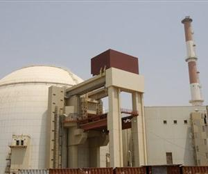 The reactor building of Bushehr nuclear power plant,  just outside the southern city of Bushehr, Iran, Saturday, Aug. 21, 2010.