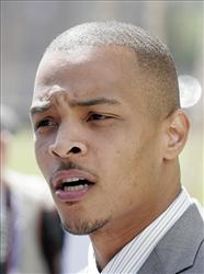 Rapper T.I., whose real name is Clifford Harris, in a 2008 file photo.