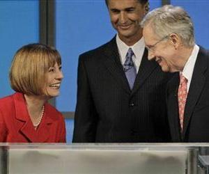 Sharron Angle and Harry Reid are ridiculously close.