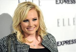 Author and columnist Meghan McCain arrives at the ELLE and Express 25 at 25 event in West Hollywood, Calif., Thursday, Oct. 7, 2010.
