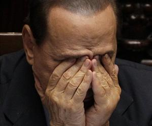 Italian Prime Minister Silvio Berlusconi: thinking impure thoughts?
