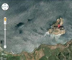 This screenshot shows what happens when you search for Leila Island, Morocco.