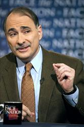 In this photo provided by CBS, White House Senior Advisor David Axelrod talks about the upcoming midterm elections on Face The Nation in Washington Sunday, Oct. 10, 2010.