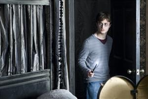 Daniel Radcliffe is shown in a scene from Harry Potter and the Deathly Hallows, which opens worldwide on Friday.
