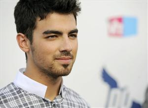 Joe Jonas of the Jonas Brothers arrives for the 2010 VH1 Do Something Awards in Los Angeles earlier this year.
