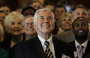 Sen. Richard Lugar, R-Ind., in a file photo.