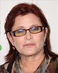 Actress Carrie Fisher attends the premiere of the HBO Documentary 'Wishful Drinking' at the Linwood Dunn Theater on December 7, 2010 in Hollywood, California.