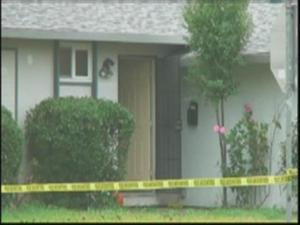 The Vacaville home where a 13-year-old girl was stabbed 30 times during a rape.