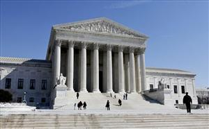 In this March 5, 2009, photo, the Supreme Court is seen in Washington.