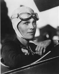 This undated file photo shows Amelia Earhart.