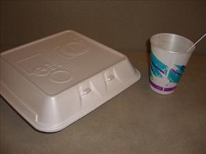 The Republicans are back in control of the House, and they brought styrofoam with them.