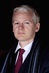 WikiLeaks founder Julian Assange leaves Belmarsh Magistrates Court last month in London.