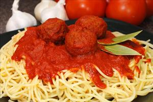 File photo of plastic-free meatballs.