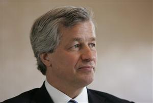 In this Jan. 13, 2009 file photo, Jamie Dimon, CEO of JPMorgan Chase, who scored a 1500% raise last year.