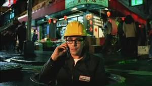 A frame from one of Marcarelli's many Verizon ads.