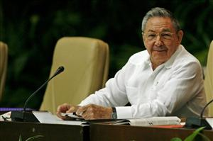 Cuba's President Raul Castro attends the 6th Congress of the Cuban Communist Party in Havana, Cuba, Saturday, April 16, 2011.