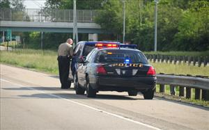 File photo of a traffic stop (not in Michigan).