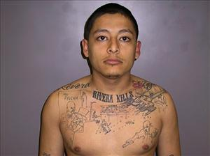 This photo of Garcia, taken after he was arrested for driving on a suspended license in 2008, led to his murder conviction.