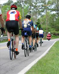 Triathletes.